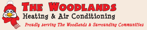 The Woodlands Heating & Air Conditioning Logo