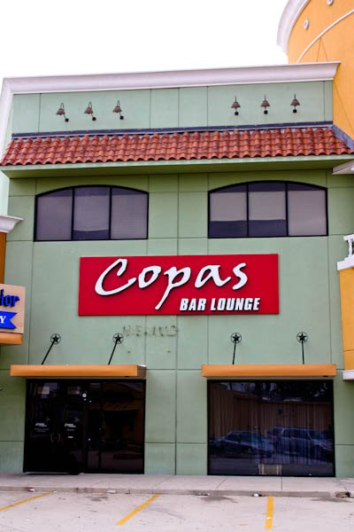 Copas bar and lounge in the woodlands for Asian cuisine rayford